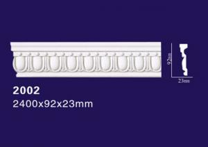 China Carved Design Polyurethane Flexible Cornice Moulding From Home Decoration supplier