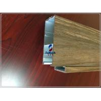 Anodised 6063 T5 / T8 Square Industrial Aluminum Profile For Window / Door Channel