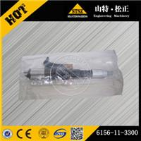 Injector 6156-11-3300 bulldozerloader pump gear undercarriage parts, valve, Filter, injector, rollar