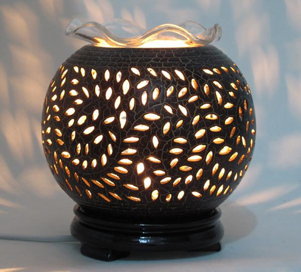 Ceramic Oil Burner ~ V ceramic aromatherapy oil burner electric