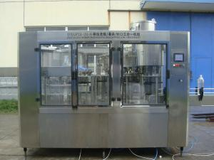China 3 in 1 Carbonated Soft Drinks CSD Filling Machine , Carbonated Filling Line on sale