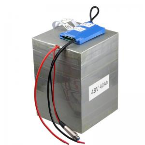 China customized 48v40Ah 16s2p LiFePO4 Battery pack for electric vehicle with BMS and 10A charger on sale