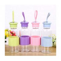 China Wholesale 500ML Portable glass water bottle on sale