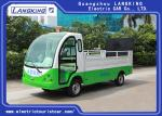 1.2 ton Electric carbage collection car /Tourist Use Electric Utility Carts ,  2 seats 90km for range with door