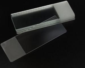 China Biology lab use Microscope frosted slides glass slide 76.2*25.4mm on sale