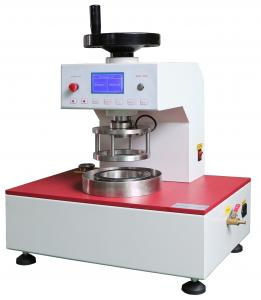 China Pneumatic Clamp Digital Fabric Water Permeability Tester For Compact Fabrics on sale