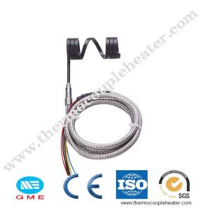 China Hot runner electric heating element coiled heaters with thermocouple on sale