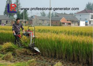 China Agriculture Farm Machinery 8HP Wheat Reaper Binder with 180 water cooling diesel engine on sale