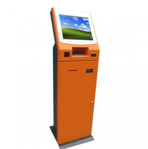 China Healthcare Kiosk / Multimedia Kiosks With Card Dispenser, Barcode Scanner and Card Reader on sale
