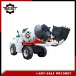 Factory price cement mixer 2.5 cubic meters self loading concrete mixer truck