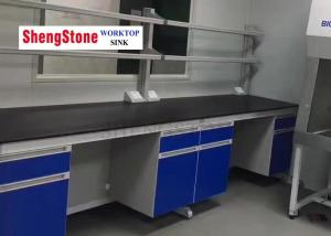 China Custom Modular Laboratory Furniture Alkali Resistance Laboratory Benchtop on sale