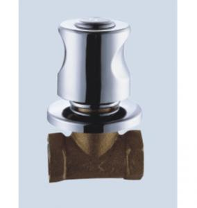 China Brass Rotary Switch Angle Valves Wall-Mounted With Single Hole on sale