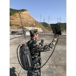 China CT-4035H-UAV Menpack Drone UAV 120W 5 Bands Jammer up to 1500m on sale