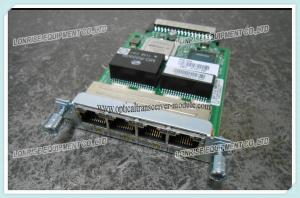 China 4 Port Clear Channel T1/E1 HWIC-4T1/E1 Cisco Router High-Speed WAN Interface card on sale