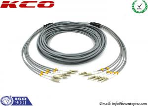 China FC 3mm Outdoor Fiber Optic Patch Cable , 6 Core Multimode Fiber Optic Cable on sale