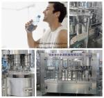 High Precision Mineral Water Bottle Filling Machine with PLC + Touch Screen Control