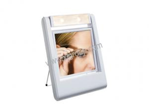 China Fashion Plastic Light mirror / LED mirror XJ-2K397, /lighted magnifying makeup mirror /wall mount lighted makeup mirror /lighted makeup mirror make up on sale