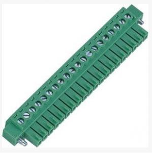 China 3.5MM Female Terminal Blocks Connectors For Load Control Systems Rohs UL Green on sale