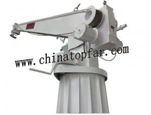 China Marine Deck crane,hose crane, provision crane,fuel oil crane,engine room crane,telescopic crane on sale