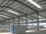 Fast Construction Modular Steel House , Rust Proof Prefab Steel Frame House