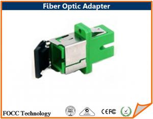 China Wireless LAN / CATV FTTH Fiber Optic Cable Adapter / SC wtih shutter Adapter on sale