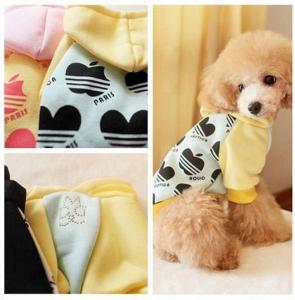 China Cotton Fleece Ropa Para Mascotas Colombia Personalized Dog Clothes Puppy Polo Shirts on sale