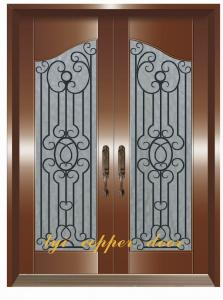 China iron door on sale