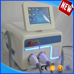 China 15*50mm big spot size shr ipl hair removal machine with two handle including skin rejuvenation e-light handle on sale