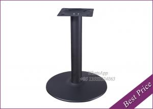 China Factory low price dining table with cast iron table base (YT-29) on sale