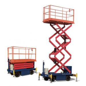 China One Man Operated Mobile Aerial Work Platform 1.8 * 1 M Platform Size For Cleaning on sale