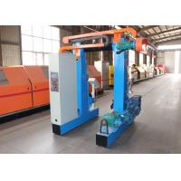China Steel Tape Cable Rewinding Machine , Low Noise Coil Rewinding Machine on sale