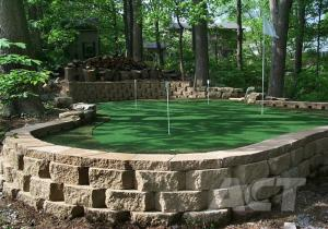 China Backyard Putting Green Artificial Turf No Fading , Artificial Turf For Golf Putting Green on sale