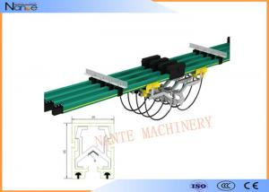 China Shrouded Bus Bar Crane Conductor Bar Class B1 No Flaming Particles on sale