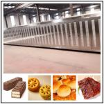 CE ISO9001 Stainless Steel Baking Tunnel Oven for Food Baking Machine