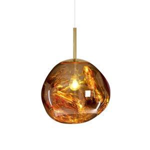 China Mini Melt Shade Modern Hanging Pendant Lights Chrome Gold fixtures Tom Dixon on sale