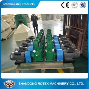 China Flat Die Animal Feed Pellet Machine , Wood Pellet Mill for animal husbandry and aquaculture on sale