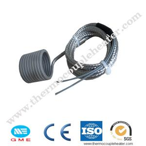 China Spring Hot Runner Coil Heaters Stainless Steel 304 With Type J Thermocouples on sale