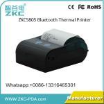 Mini wireless handheld 58mm thermal bluetooth wifi billing printer
