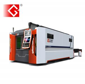 China Full closed 2500w Nlight IPG fiber laser metal sheet cutting machine for cutting metal steel on sale