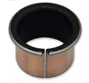 China PAP P11 Collar Dry Sliding Bearing / Composite Bearing Teflon PTFE Coated on sale