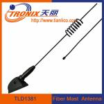 China 1 section spring form fiber mast car antenna/ passive car antenna TLD1381 wholesale