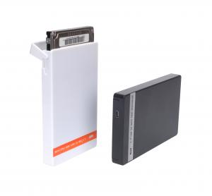 China High Quality Plastic Slim 2.5 HDD Enclosure USB 2.0 SATA External Hard Disk Case on sale