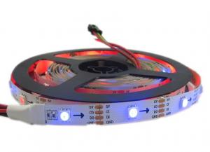 China APA102 Digital Addressable Rgb LED Flexible Strip Lights APA102C IC Built In on sale