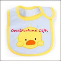 Promotional gift printed logo Cotton Child Bibs