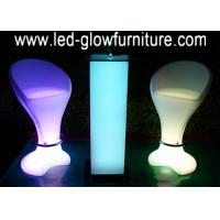 China Modern Glowing night club bar stools , High led cocktail bar counter furniture on sale