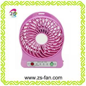 China OEM ODM Plastic USB Rechargeable Portable Mini Fan, Desk Fan on sale