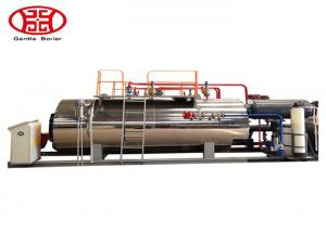 China 1 T/H Industrial Fire Tube Natural Gas Boiler , Diesel Oil Dual Fuel Fired Steam Boiler on sale