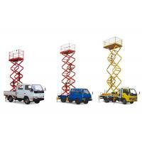 China 285 - 340kg Load Truck Mounted Aerial Work Platform For Ad Board Setting OEM on sale