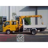Isuzu 600P Brand New Dongfeng Truck Mounted Crane Xcmg Crane 3.2Tons