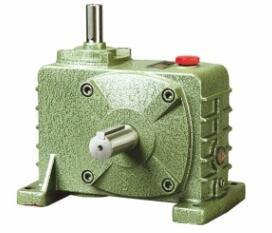 China Single Stage Cast - Iron Worm Gear Speed Reduction Gearbox Output Torque 28-707 N.M. on sale